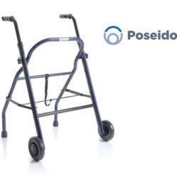 Rollator Pieghevole in Acciaio Verniciato - 2 ruote - Poseidon